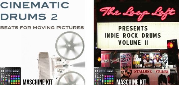 Cinematic Drums 2 / Indie Rock Drums Vol II