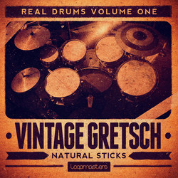Vintage Gretsch Natural Sticks