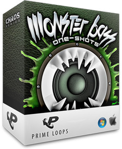 Prime Loops Monster Bass One-Shots