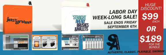 Straight Ahead Samples Labor Day sale