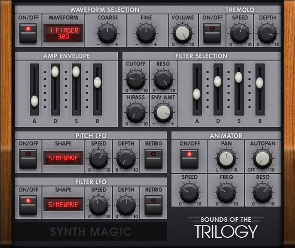 Synth Magic Sounds of the Trilogy
