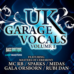 Bass Boutique UK Garage Vocals Vol 1