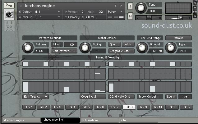 id-instrument suite for Kontakt