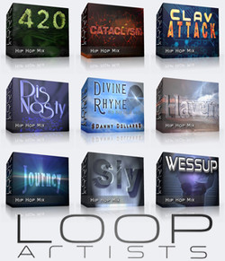 LoopArtists Hip Hop packs