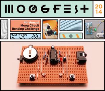 Moogfest Circuit Bending Challenge