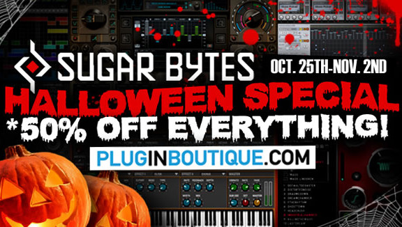 Sugar Bytes 50% off at Plugin Boutique