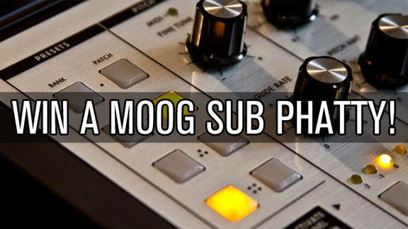 Moog Sub Phatty contest