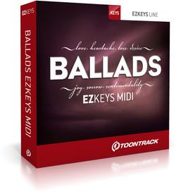 Toontrack Ballads EZkeys MIDI