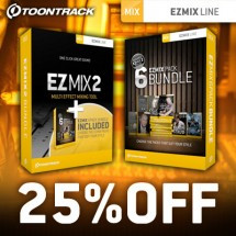 Toontrack EZmix Bundle Offers