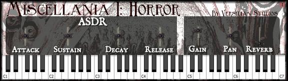 Versilian Studios Miscellania I - Horror