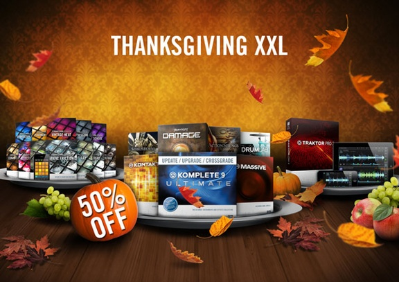 Native Instruments Thanksgiving XXL