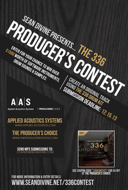 Sean Divine 336 Producer's Contest