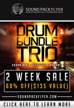 Xclusive-Audio Drum Bundle Trio