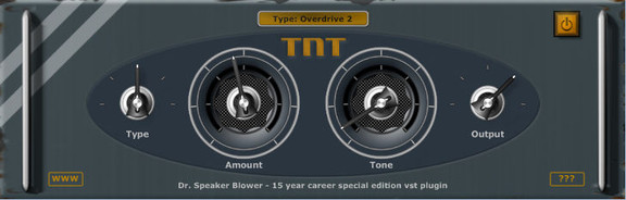 Dr. Speaker Blower TNT