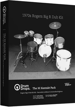 Drumdrops Rogers Big R Dub Kit