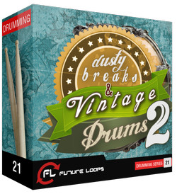 Future Loops Dusty Breaks & Vintage Drums 2