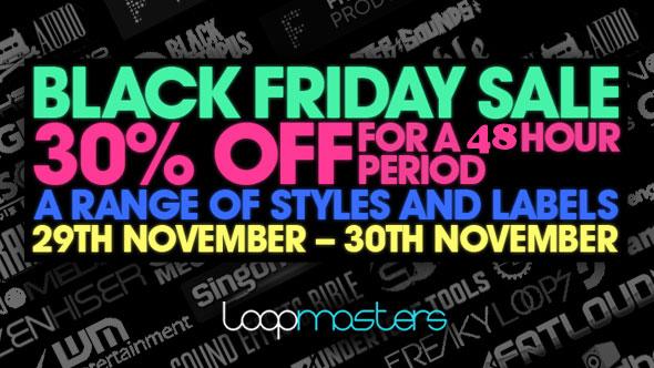 Loopmasters Black Friday Sale