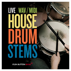 Live House Drum Stems