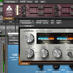 Softube 2.0 plug-ins in Pro Tools 11