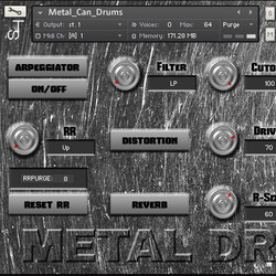 Syntone Metal Can Drums