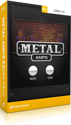 Toontrack Metal Amps for EZmix 2