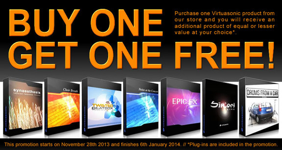Virtuasonic Buy 1 Get 1 Free
