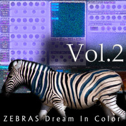 Zebras Dream in Color Vol 2