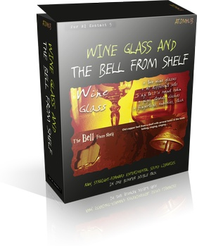 VST Buzz Wine Glass and The Bell from Shelf