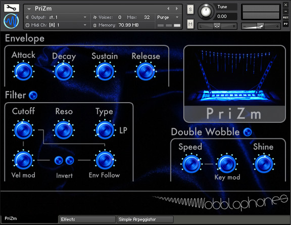 Wobblophones PriZm
