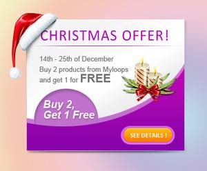 Myloops Buy 2 Get 1 Free