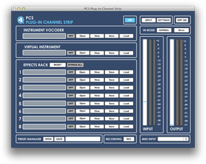 Audiomeals Plug-In Channel Strip