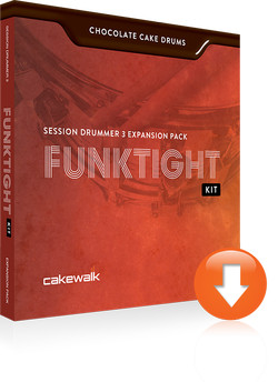 Chocolate Cake Drums Funktight Kit