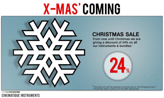 Cinematique Instruments Christmas Sale
