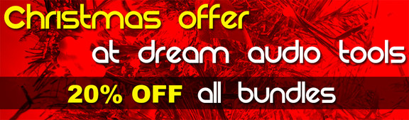 Dream Audio Tools Bundles Sale