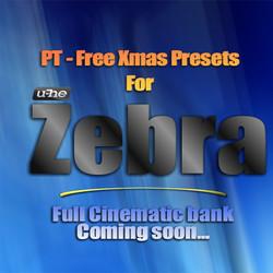 PT Free Xmas Presets for Zebra