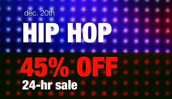 45% off hip hop packs at Loopmasters