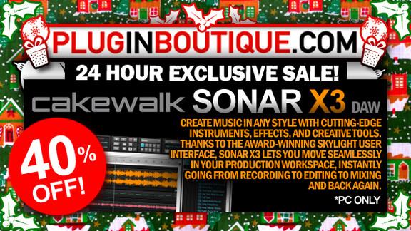 Cakewalk SONAR X3 Sale