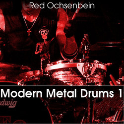 Red Ochsenbein Modern Metal Drums 1