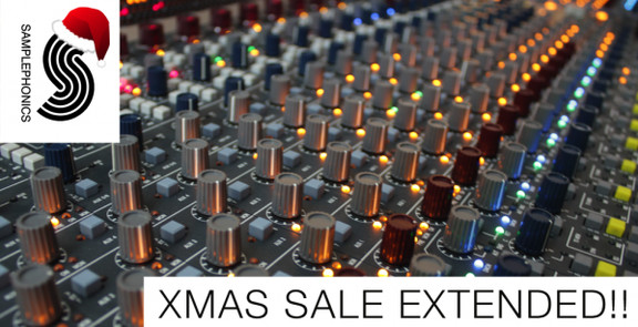 Samplephonics Xmas Sale