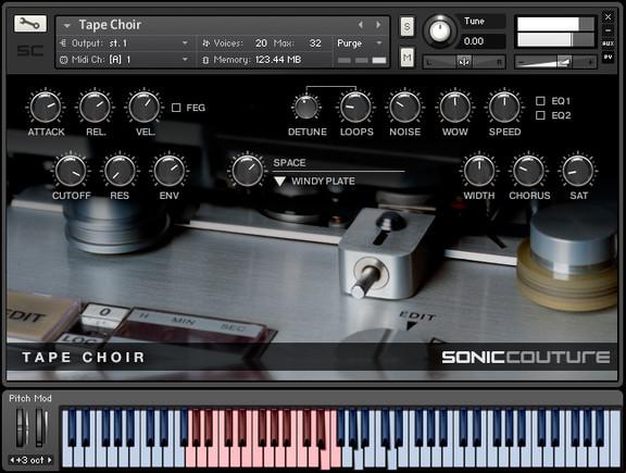 Soniccouture Tape Choir