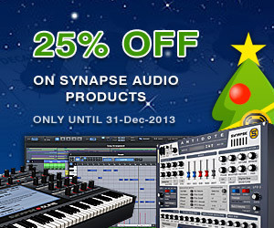 Synapse Audio Holiday Sale