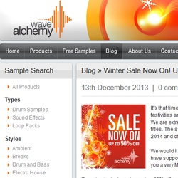 Wave Alchemy Winter Sale