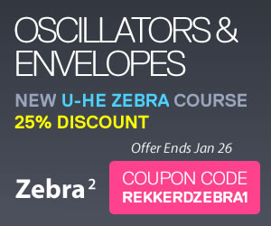 ADSR Sounds Zebra video course