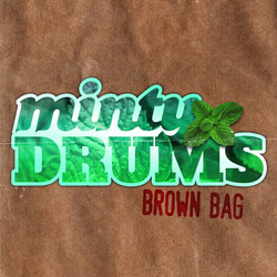 Minty Drums Brown Bag