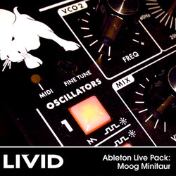 Livid Moog Minitaur pack