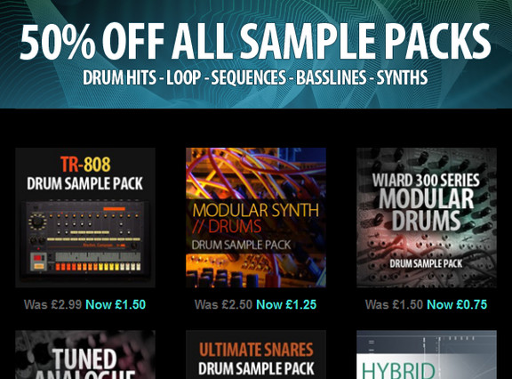 Minimal System Sample Packs
