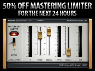 Minimal System Mastering Limiter