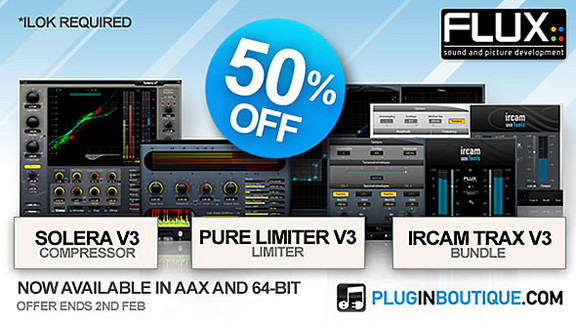 50% off Flux plugins