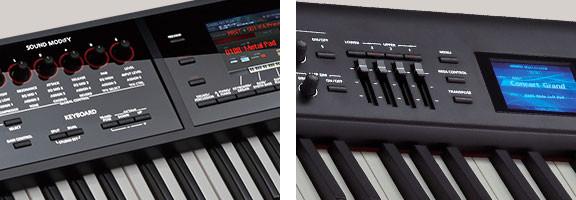 Roland FA-08/FA-06 & RD-800