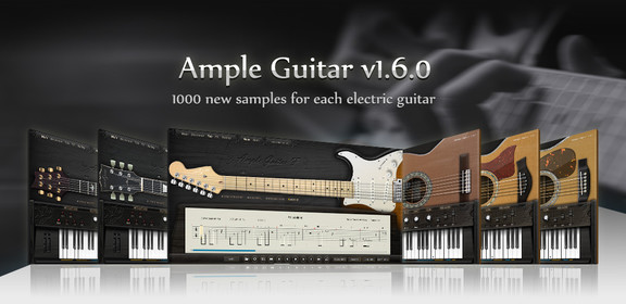 Ample Guitar 1.6 update